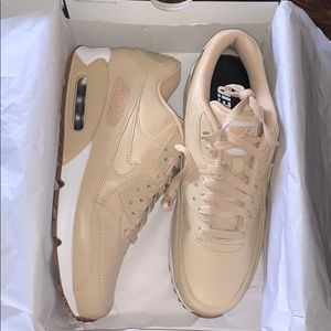 Nike air max ID custom leather sneakers size 8.5